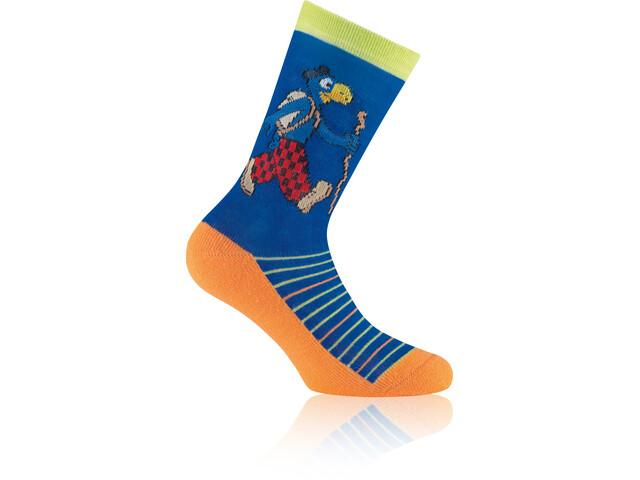 Rohner Globi Trekking Socks Kids, royal-blue